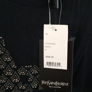 Yves Saint Laurent Tops - Yves Saint Laurent t-shirt